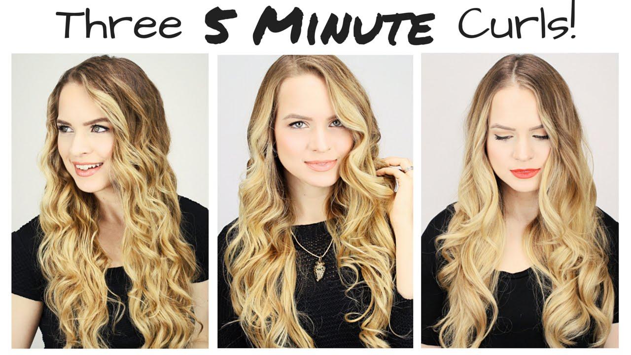 3 különböző hullámos frizura 5 perc alatt