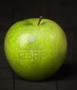 Almás arcpakolás