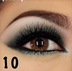 Árnyalt szürke szemek