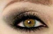 Bulis füstös szemek arannyal