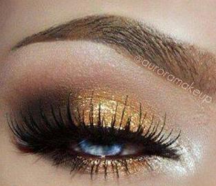 Csillámló arany szemek