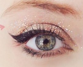 Csillogó szemek