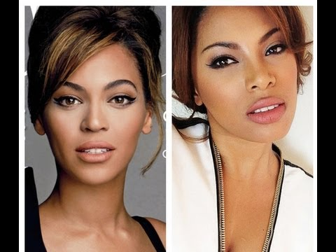 Beyoncé smink