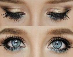 Smink kék szeműeknek