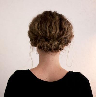 Konty rövid göndör hajhoz