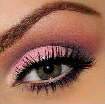Rózsaszín smink