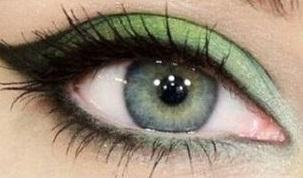 Zöld macskás szemek