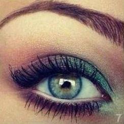 Zöld smink zöld szemhez
